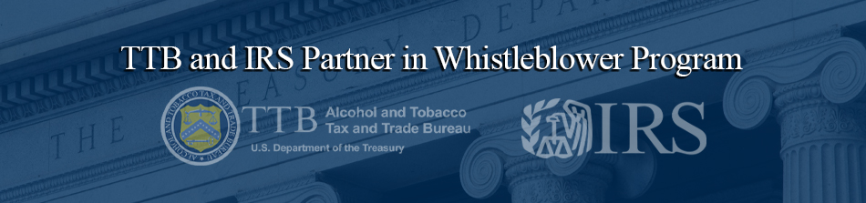 TTB and IRS Whistleblower Program