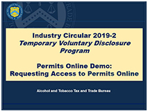 Permits Online Demo - Requesting Access to Permits Online