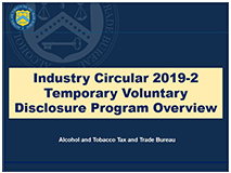 Overview - Temporary Voluntary Disclosure Program