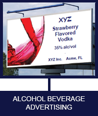 ALCOHOL BEVERAGE ADVERTISING