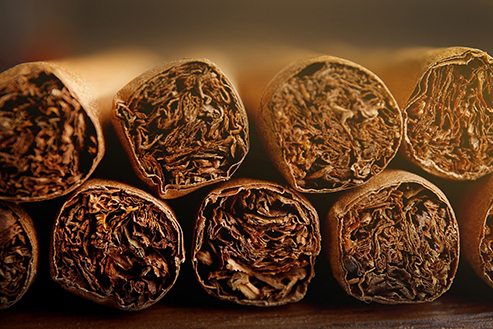 Graphic of Cigars.
