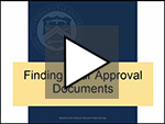 Finding Your Approval Documents on Permits Online