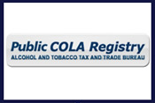 Search Public COLA Registry